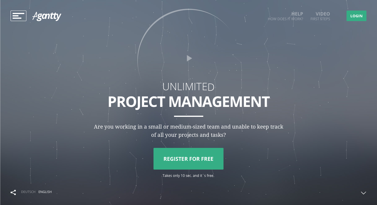 Agantty – Free Project Management