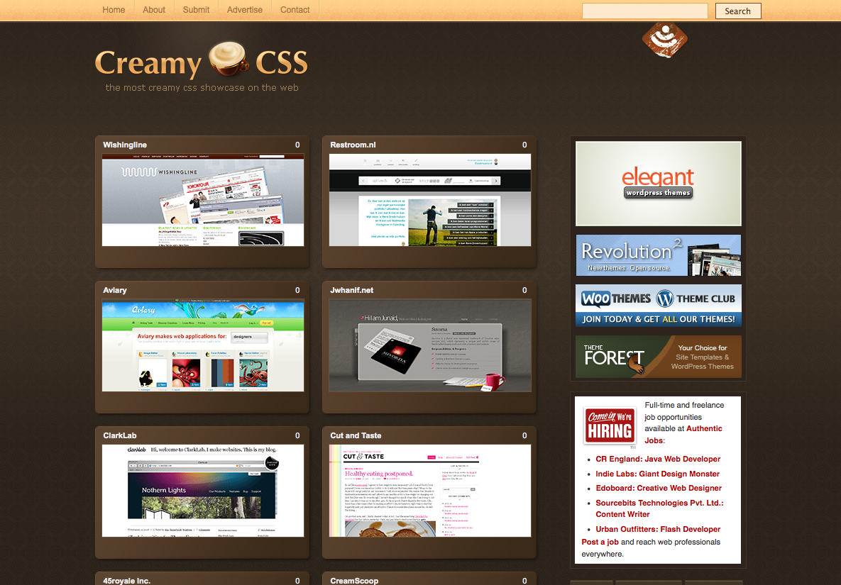Creamy css for What are the best websites