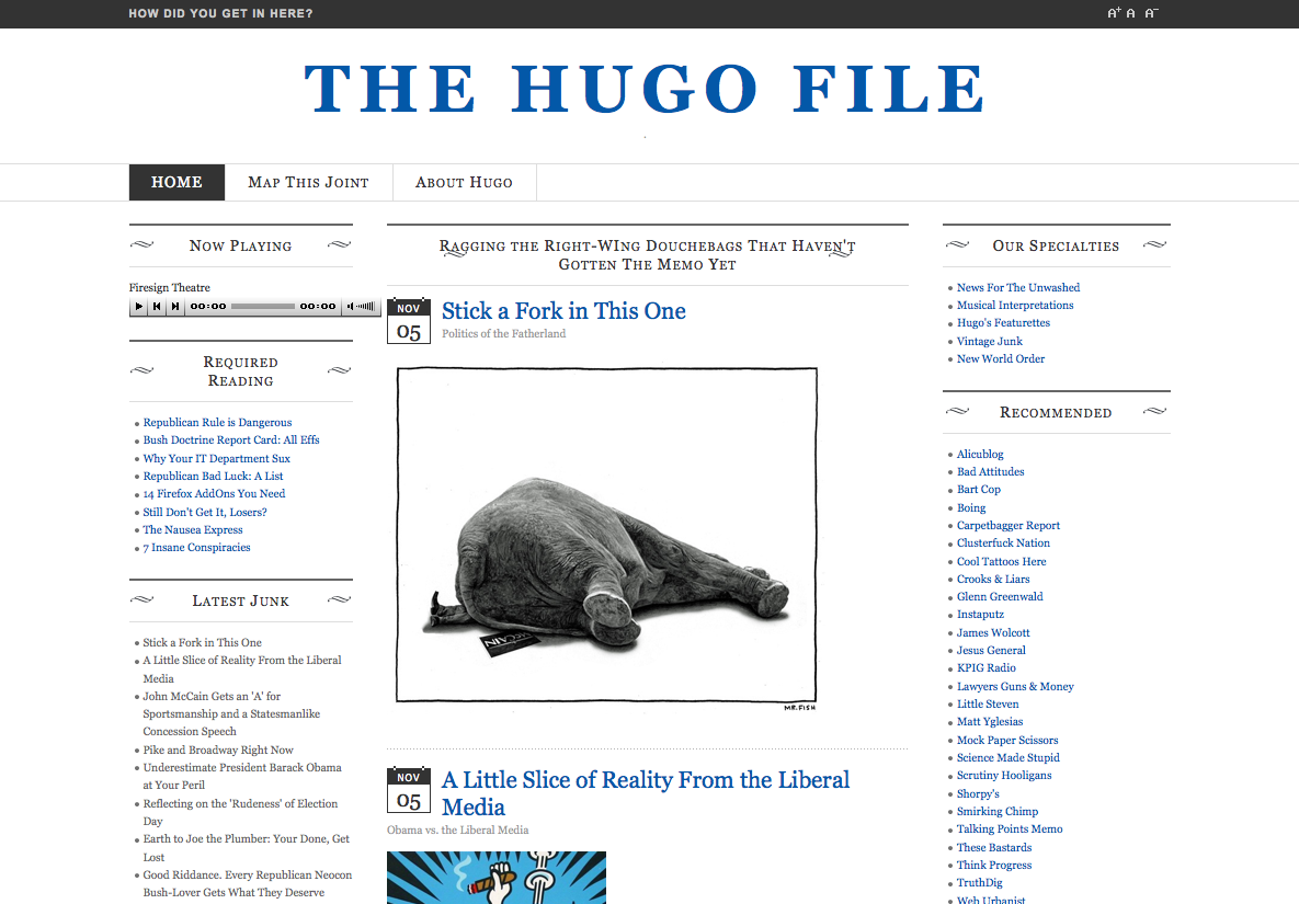 The Hugo File