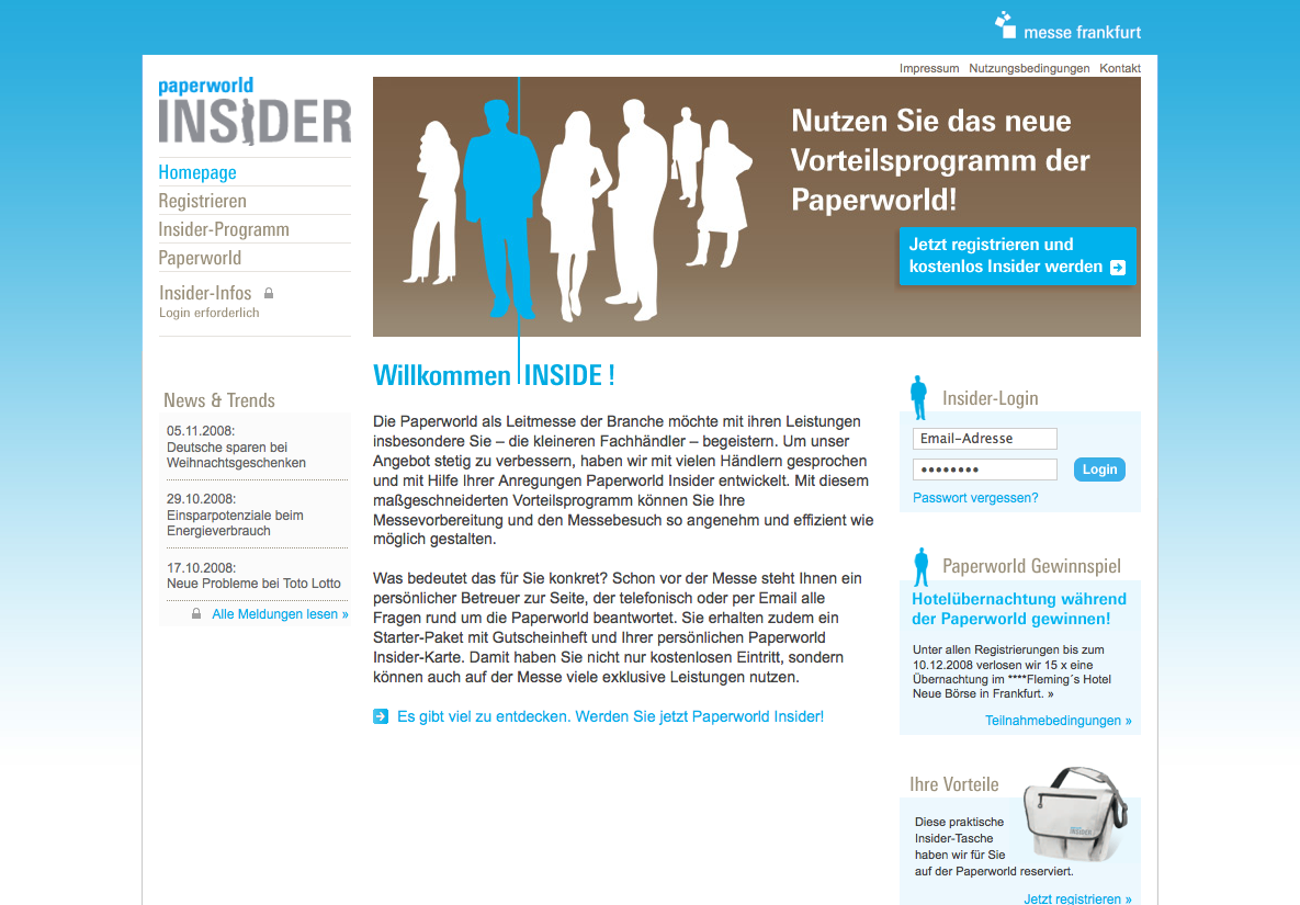 Paperworld Insider - StyleTheWeb.com