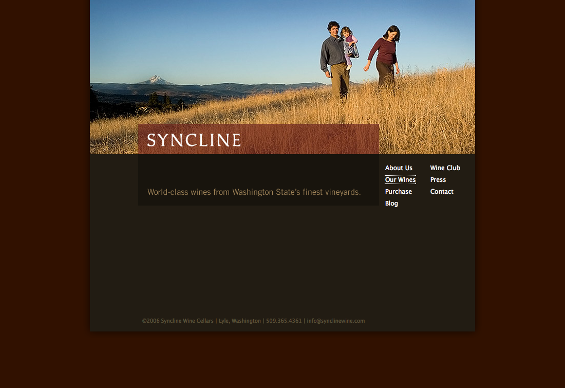 Syncline Wine